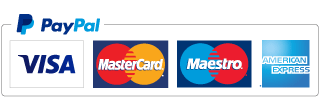 Payment by Paypal, Credit or Debit Card